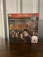 Twilight Scene It? Deluxe DVD Board Trivia Game Family Party Fun - NEW & SEALED