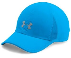 Under Armour Women's Shadow 2.0 Cap, Mako Blue/Silver, One Size, 04