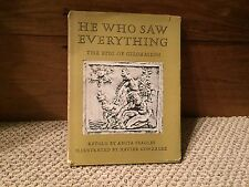 He Who Saw Everything, Anita Feagles, Signed. Young Scott Books. 1966, 1st Ed.