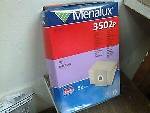 MENALUX VACUUM CLEANER BAGS - FOR PHILIPS / AFK / DIRT DEVIL   - (R7)