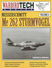 WARBIRD TECH 6 MESSERSCHMITT Me262 STURMVOGEL WW2 GERMAN LUFTWAFFE JG JV KG NJG
