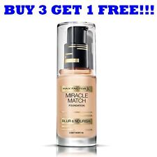 Max Factor Base Miracle MATCH 30ml ivoire clair 40
