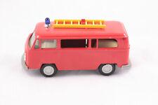 Gama Mini 1:42 Feuerwehr Gerätewagen T2 VW Bus mit Leiter, near Mint