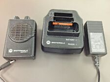 Motorola Minitor 5 Pager, Model A03Kms9239Bc, Vhf, 2Fx Sv, Charger, No Battery