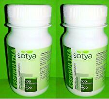 Espirulina 400 mg. 2x100 comprimidos SOTYA