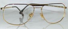 Vintage 1970s Rodenstock Stefan 2275 Mens Metal Frame 59 / 16 Gold/Tortoise NOS