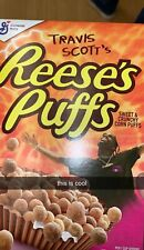 General Mills Travis Scott Reese's Puffs Cereal New Sealed Rare Limited Edition