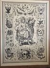 Ravi Zupa poster print Mystery Babylon Great Signed Numbered COA Not OBEY