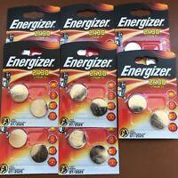 10 X Energizer CR2430 3V Pilas de Botãn Litio Baterêas 2430 DL2430 K2430L