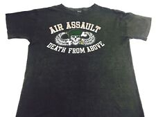 Vintage Death from Above shirt Air Assault Military 1980s Tee Air Force Tee RARE