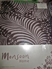 "New MONSOON Brown Beige BODONI Pencil Pleat Curtains 66"" Wide x 72"" Drop -LAST 1"