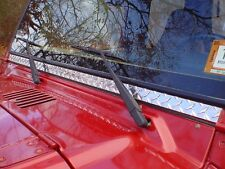 JEEP TJ WRANGLER DIAMOND PLATE WINDSHIELD FRAME COVER Only $21 w/ Free shipping
