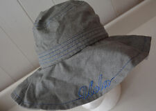 UCLA Bucket Hat Gray Denim Adidas Womens S/M Floppy Sun Hat Fan Apparel Bruins