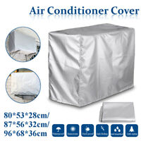 Air Conditioner Cover Protector Outdoor Dust-proof Sunscreen Oxford Waterproof N