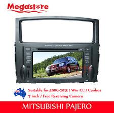 """7"""" Car DVD Player GPS Stereo Nav Radio BT IPOD For Mitsubishi Pajero 2006-2013"""