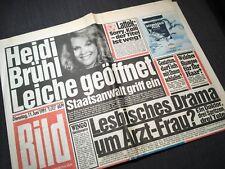 Bildzeitung BILD 11.06.1991 * zum 28. 29. 27. Geburtstag * Heidi Brühl