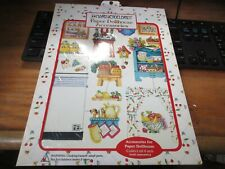 Vintage 2000 Mary Engelbreit Paper Dollhouse Accessories Magnetic NEW #3