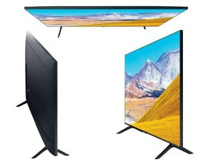 "Samsung UE43TU8000K 43"" 4K LED Smart TV - Black"