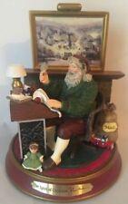 Thomas Kinkade Light Up Holidays Santa Claus Figurine The Spirit of Christmas