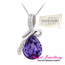 Pear Crystal Beauty Costume Necklaces & Pendants