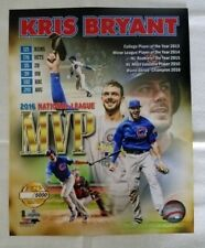 Kris Bryant Chicago Cubs 2016 National League MVP RP 8x10 Photo