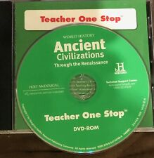 Holt Ancient Civilizations OneStop Dvdrom or Stories in History Set-Pick the one