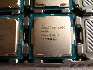 Intel Pentium G4560 3.5GHz Dual Core 3MB LGA1151 BX80677G4560 SR32Y USA