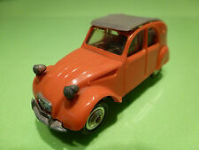 NOREV 1:43  - CITROEN 2CV az LUXE NO= 56  - PLASTIK  - GOOD CONDITION
