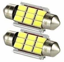 2x Canbus SMD LED Kennzeichenbeleuchtung LED Mini TÜV-frei 6000K weiß