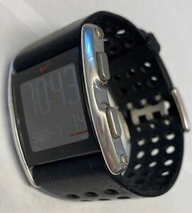 Men's Nike Blade Sledge Wedge Sports Digital Watch  WC0067 New Battery Nice!