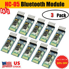 3PCS HC-05 Wireless Bluetooth RF Transceiver Module serial RS232 TTL for Arduino