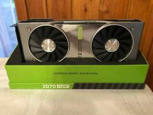 NVIDIA GeForce RTX 2070 Super Founders Edition! GREAT CONDITION!