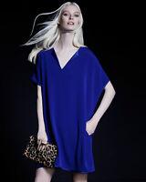 DIANE VON FURSTENBERG DVF $398 Kora Oversized Shift Dress Size Petite Small