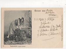 Agnes Sorma Rautendelein Opera Vintage Gruss Aus Postcard Music 673b