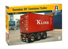 TECNOKAR 20' CONTAINER TRAILER3887 Truck  ITALERI 1:24  New !
