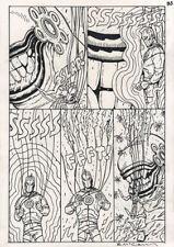 BRENDAN McCARTHY Dr. Fate #18 ORIGINAL COMIC ART