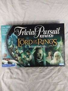 Trivial Pursuit DVD Board Game The LORD OF THE RINGS TRILOGY EDITION