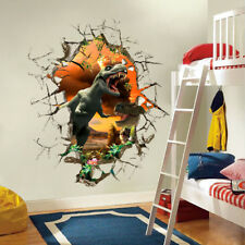 3D Dinosaur Wall Stickers Decals Mural Art Wallpaper Decoration For Kids Room