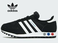 ⚫ EXCLUSIVE Adidas Originals LA Trainer OG ® ( Men Sizes UK: 7 - 12 ) Black Red