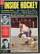 1968/69 Inside Hockey HOF Ferguson/Mikita/Beliveau
