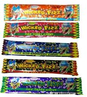 Bulk Lollies 30 x Wicked Fizz Chews Assorted Flavours Candy Party Favors