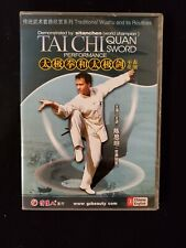 Tai Chi Quan Sword Performance Demonstrated By Sitanchen World Champion Dvd
