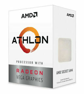 AMD Athlon 3000G Desktop Processor (3.5GHz, 2 Cores, Socket AM4) - YD3000C6FHBOX