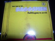 Baggsmen ft Jake Stone - Bubblegum – Australian CD Single – Like New