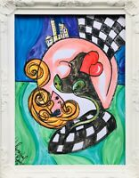 Margarita Bonke Malerei Zeichnung painting City surrealismus Erotica Akt Erotik