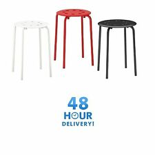 Ikea Marius Stackable Stool Breakfast Bar Dining Stool Modern Multipurpose Use