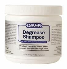 Davis Degrease Shampoo Cleans Oily Coats, Very Dirty Pets, Tough Stains, 16 oz
