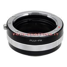 ADAPTER PERFUJICA FUJI FUJIFILM FX ANELLO ADATTATORE RING X-MOUNT X-PRO2 X-T1