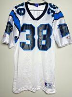Tyrone Poole size M 40 Carolina Panthers Vintage Champion NFL Football Jersey 38