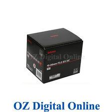 New Sigma 10-20mm 10-20 f/3.5 F3.5 EX DC HSM for Nikon 1 Yr Au Wty